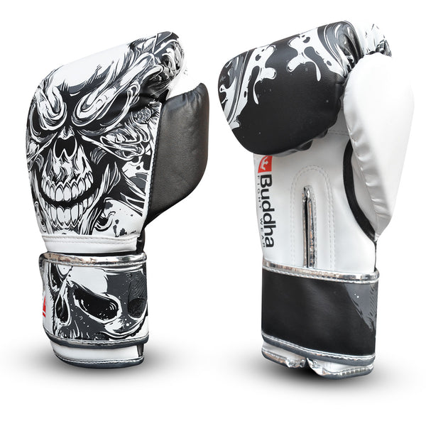 Boxing Gloves Muay Thai Kick Boxing Fantasy Skull Special Edition - Buddha Fight Wear