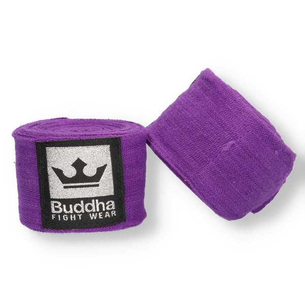 Benes de Boxa Semi Elàstics 4,5 Metres Moradas - Buddha Fight Wear