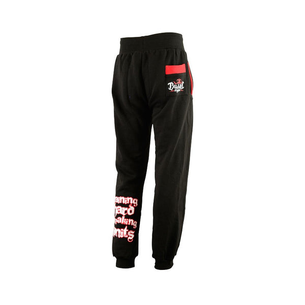 Training Hard Pants Schwarz - Buddha Fight Wear