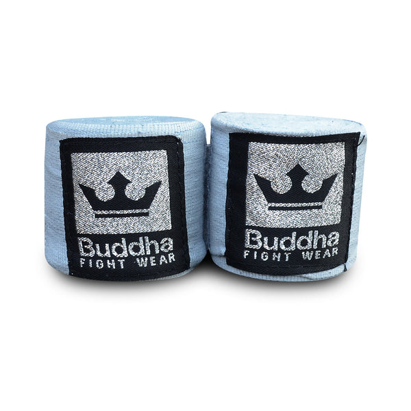 Benes de Boxa Semi Elàstics Cotó Gris - Buddha Fight Wear