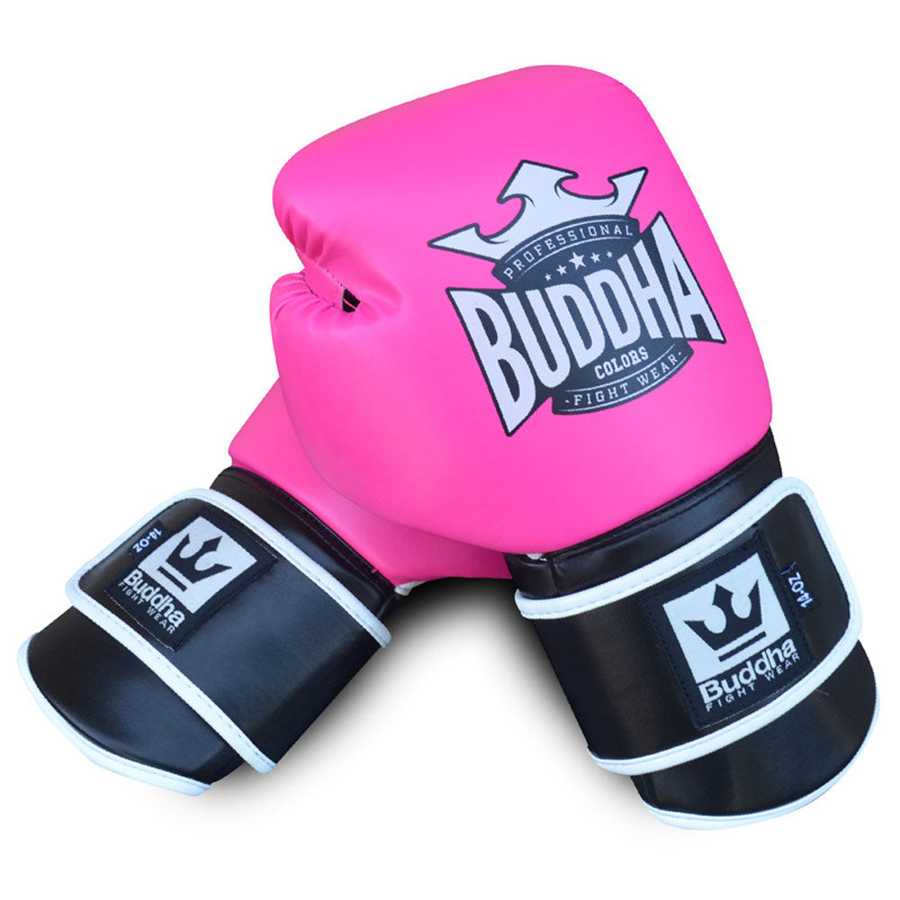 Muay Thai Kick Boxing Colors Pink Boxing Gloves