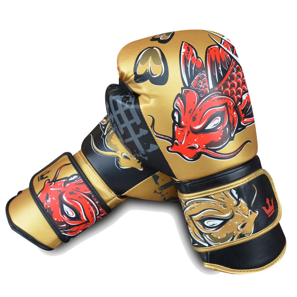 Boxhandschuhe Muay Thai Kick Boxen Fantasy Koy - Buddha Fight Wear