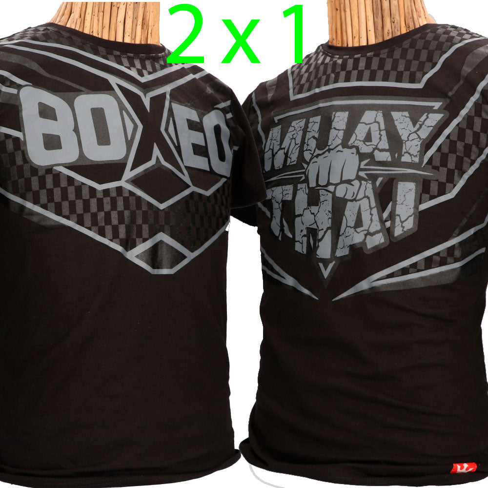 2 x 1 T-Shirts Buddha Premium - Buddha Fight Wear