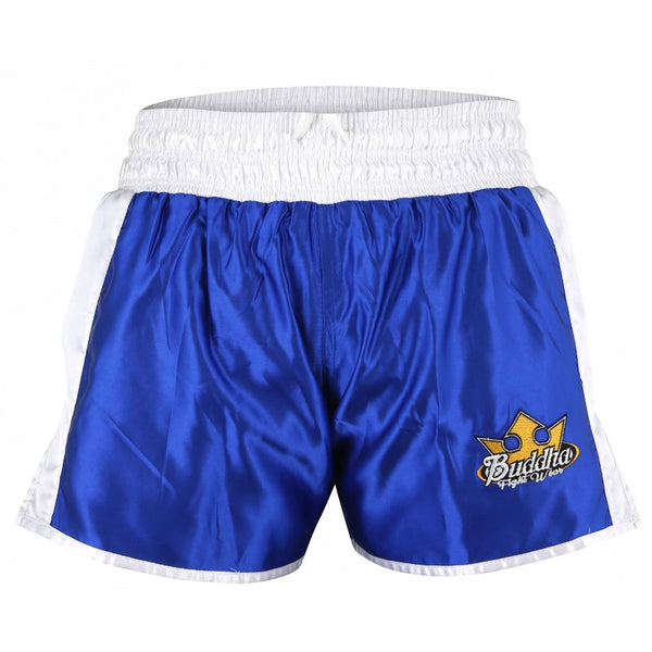 Pantalons Reversible Muay Thai Kick Boxing Buddha Retro Vermell / Blau - Buddha Fight Wear