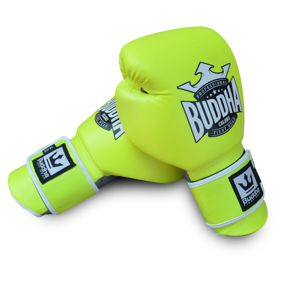 Boxing Gloves Muay Thai Kick Boxing Colors Yellow 2.0