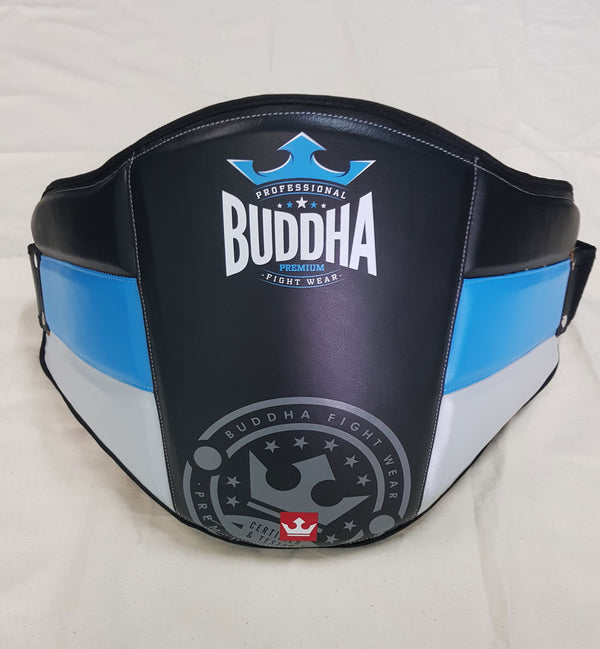 Professional Ventral Buddha Thailand Black-Blue-White - Buddha Fight Wear