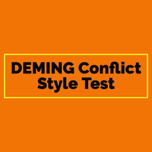 DEMING Conflict Style Test (Digital Download)