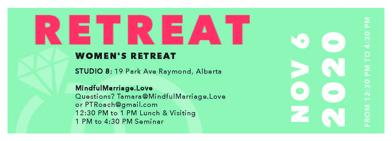 Women's Retreat Canada Nov 6, 2020