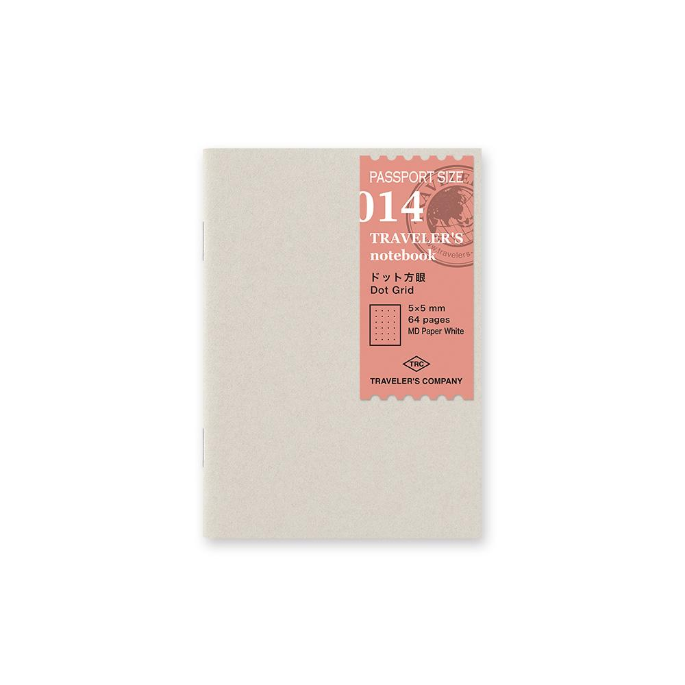 Traveler's notebook dot grid passport size 014 eyes open project