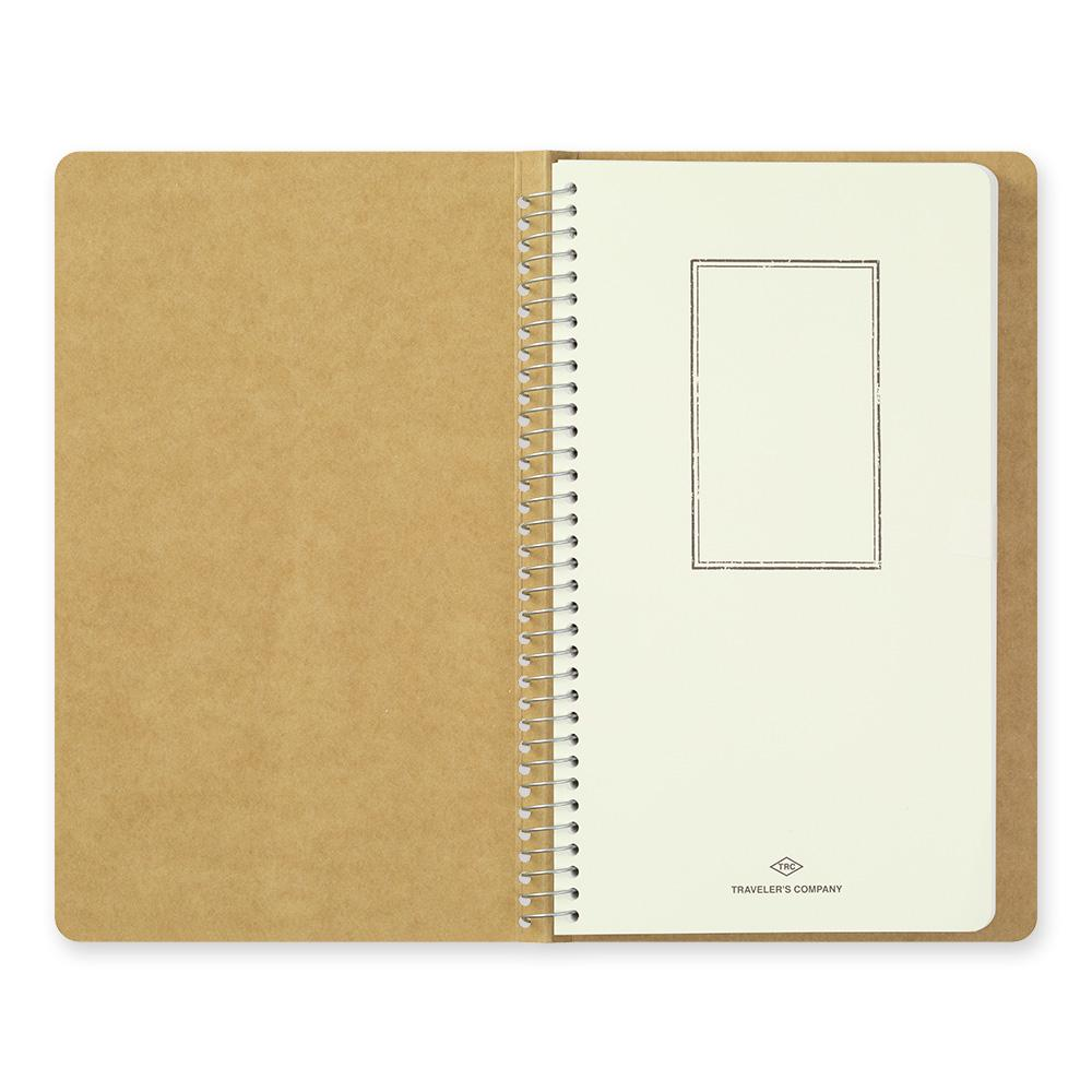 spiral ring notebook, MD White Paper from traveler's company at eyes open project