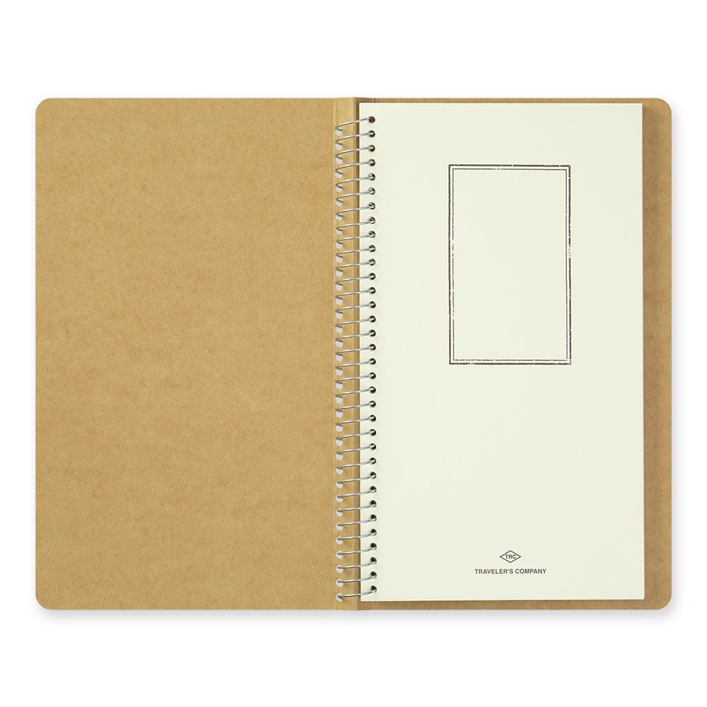 A5 Slim spiral ring notebook; watercolor paper at Eyes Open Project