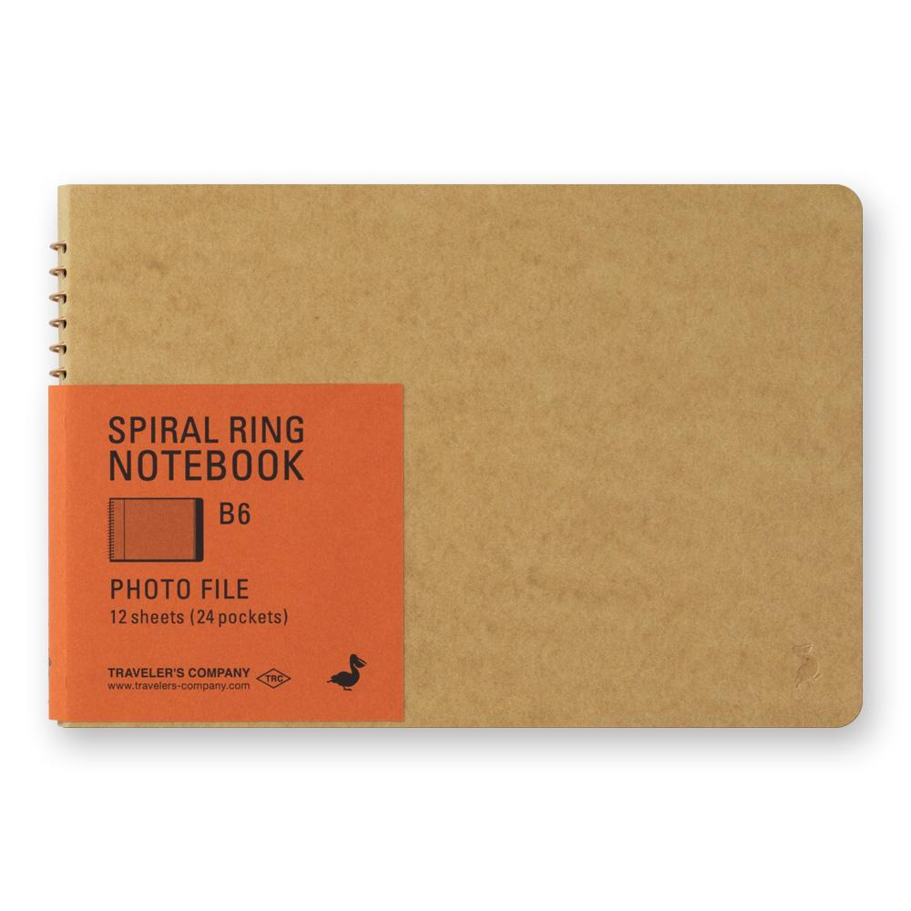spiral ring notebook B6 photo file at eyes open project