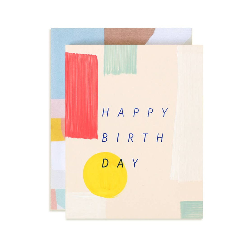 Spectrum Birthday Greeting Card