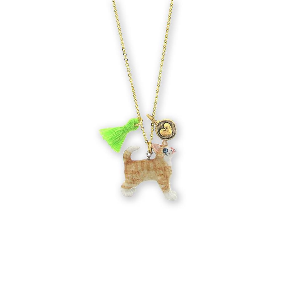 Cat Lil' Critters Necklace