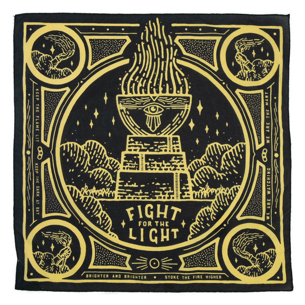 """Fight for the Light"" Organic Cotton Bandana"