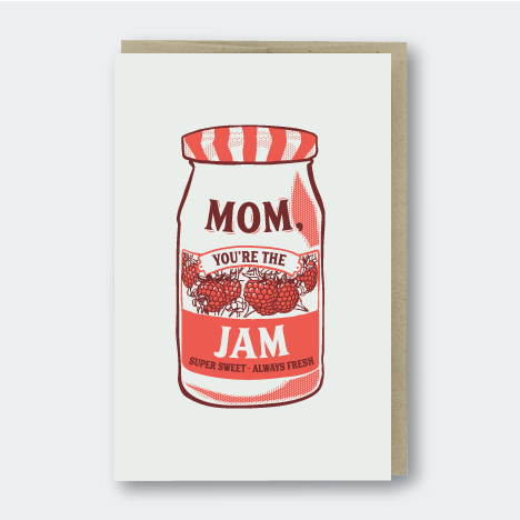 Pike St. Press Mom Jam Card. Eyes Open Project