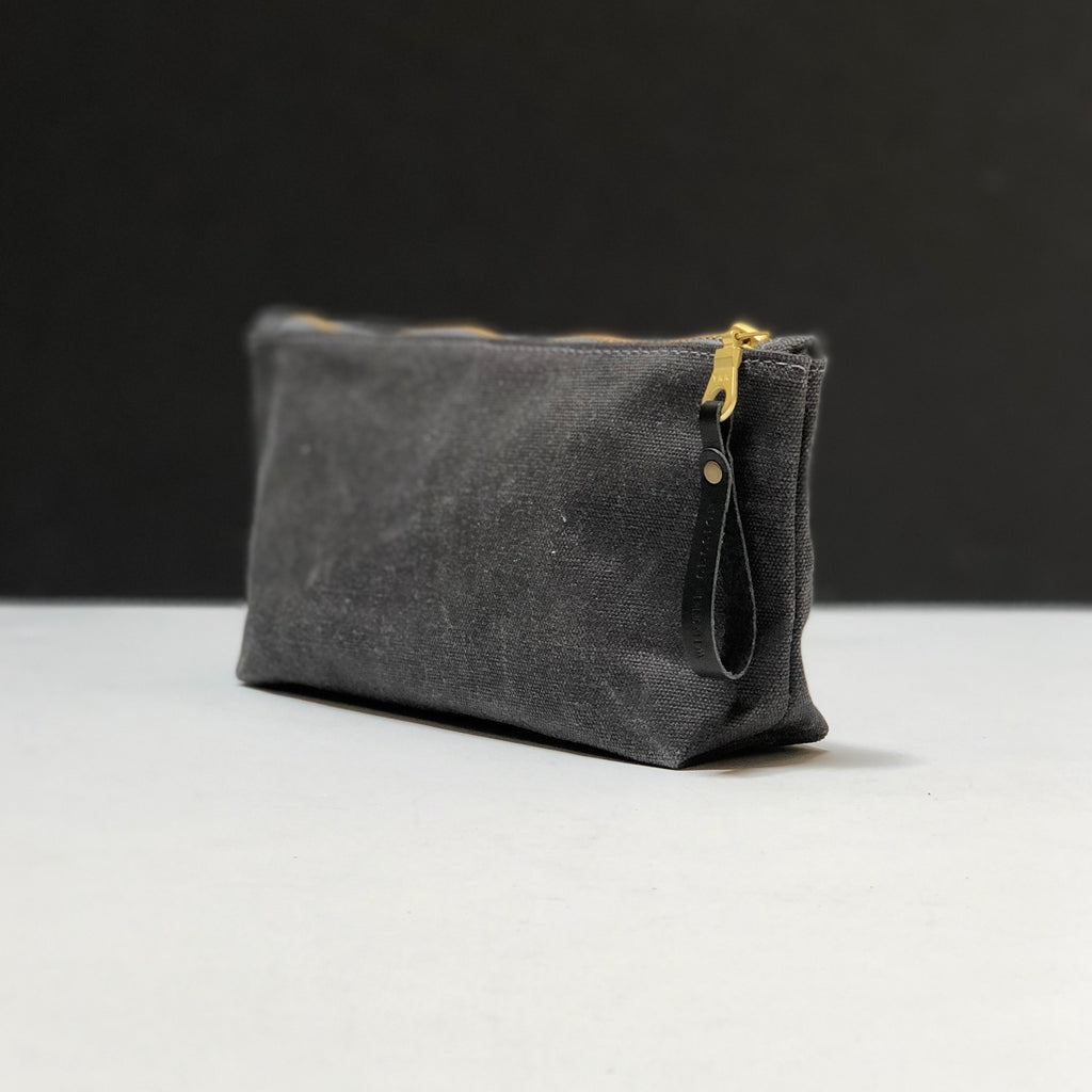 Eyes Open Waxed Canvas Zip Bag
