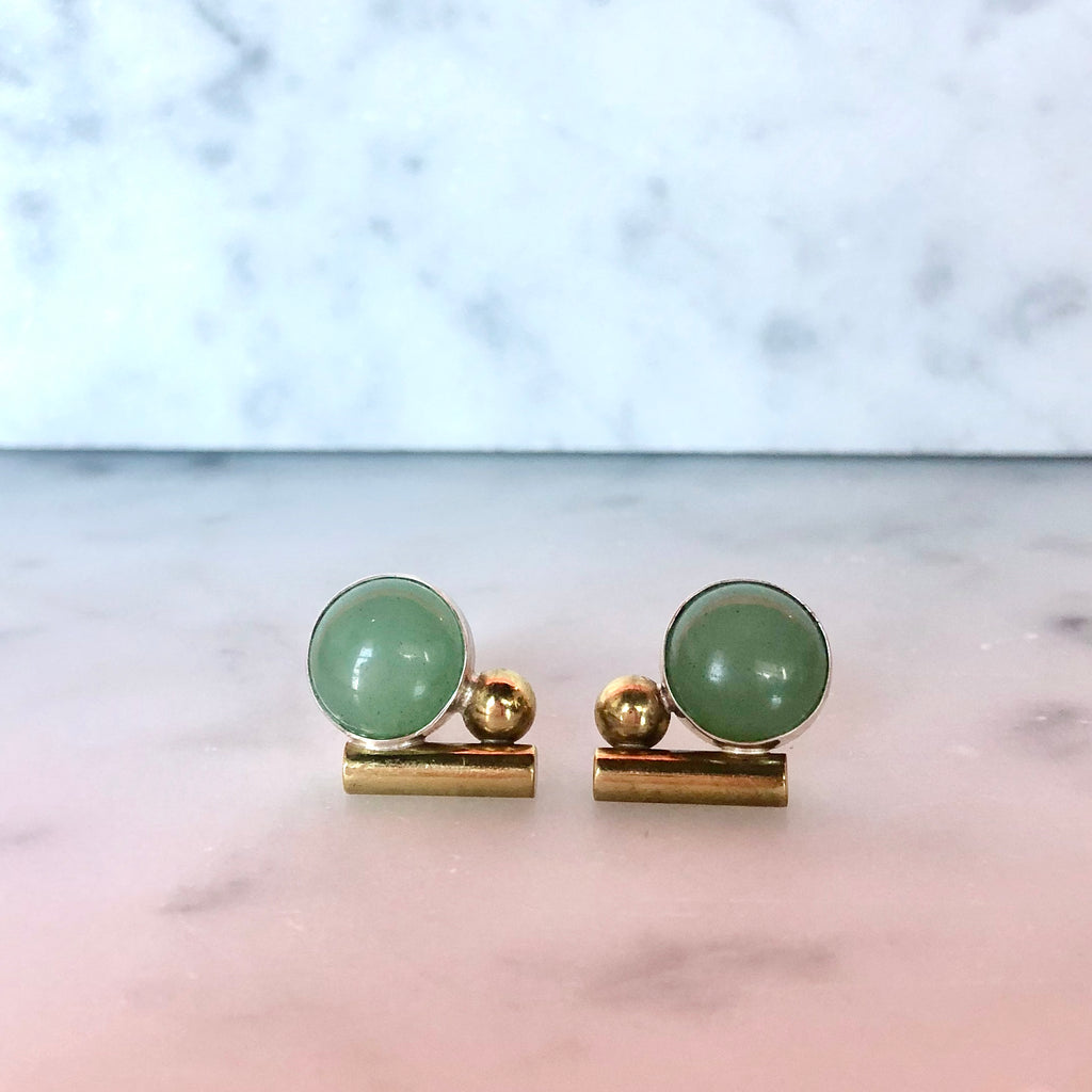 Bauhaus studs in Gold