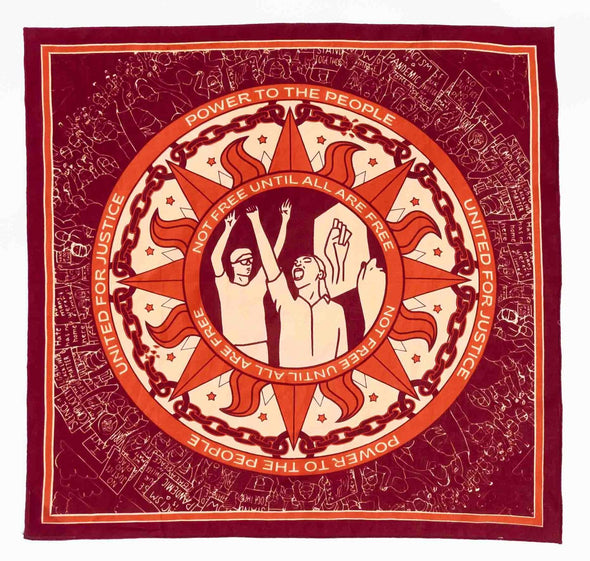 Justice Bandana Organic cotton bandits eyes open project