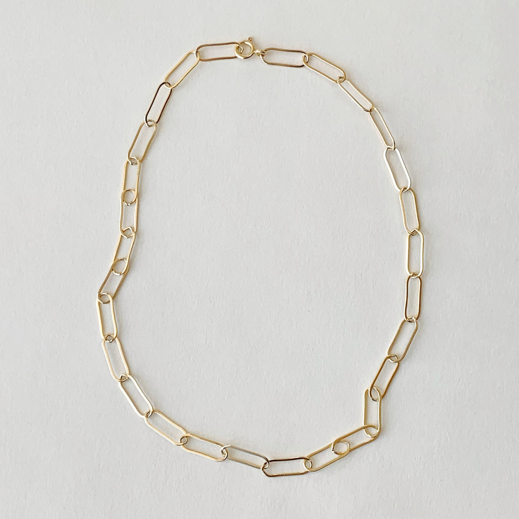 highlow massimo 14k gold fill necklace