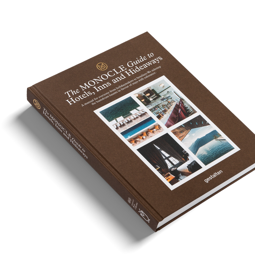 monocle guide to hotels inns hideaways gestalten book eyes open project