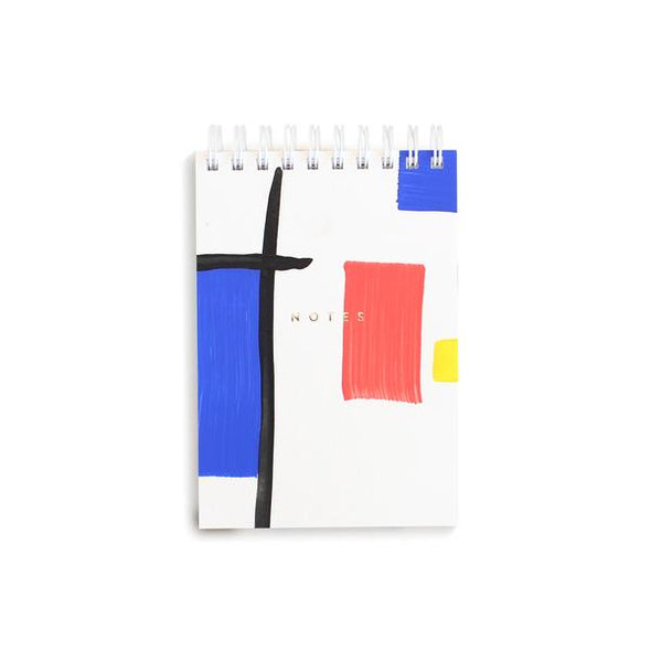 Moglea Mondrian Notepad. Eyes Open Project