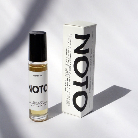 Noto Botanics Rooted Oil Roller Eyes Open Project