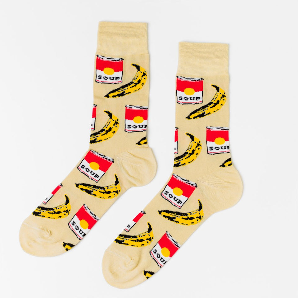 Pop Art Men's Socks Eyes Open Project