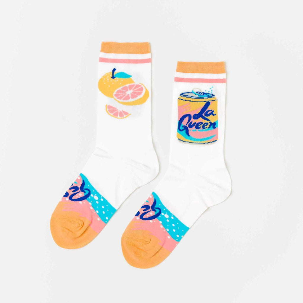 La Queen Women's Socks Eyes Open Project