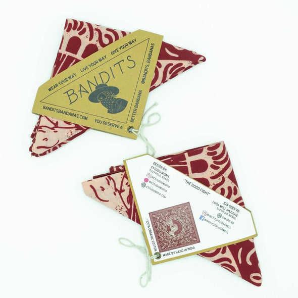 """The Good Fight"" Organic Cotton Bandana"