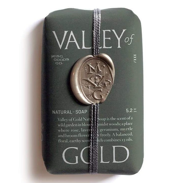 Misc. Goods Co. Valley of Gold Soap Bar Eyes Open Project