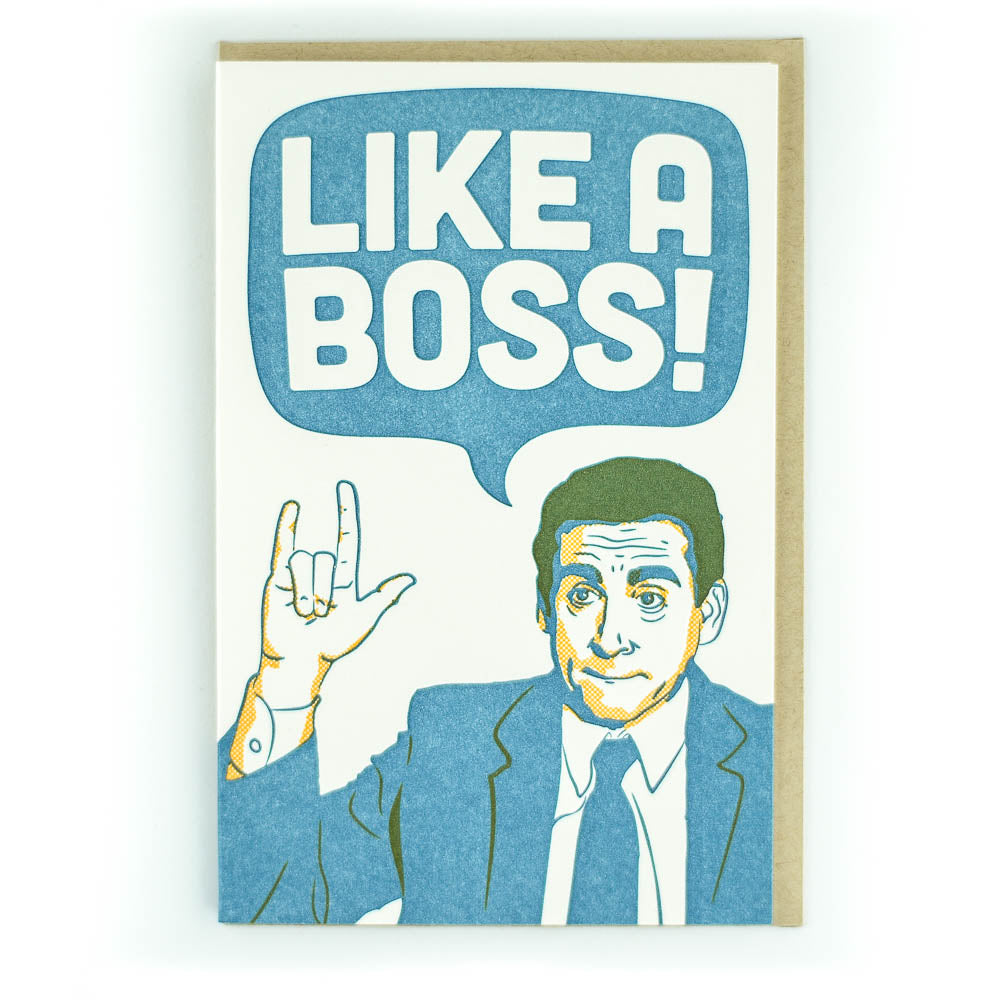 Pike St Press like a boss card