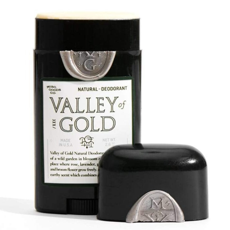 Misc. Goods Co. Valley of Gold Deodorant Eyes Open Project