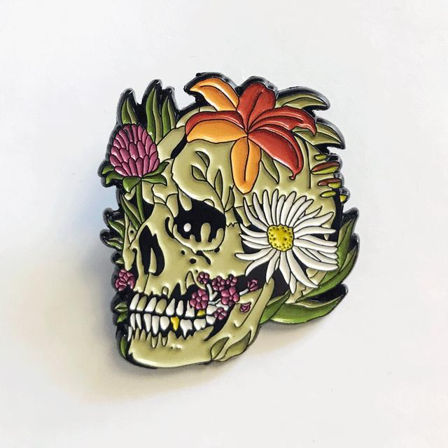 Skull Growth Pin