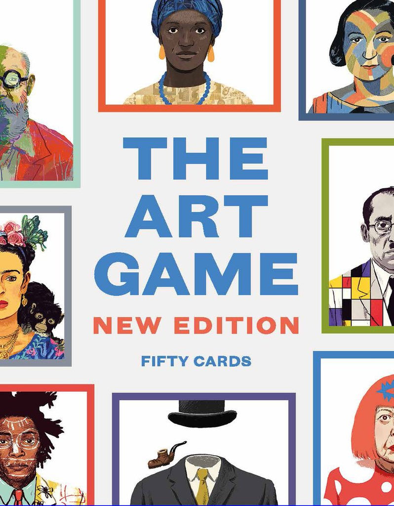 the art game 50 cards chronicle books card eyes open project