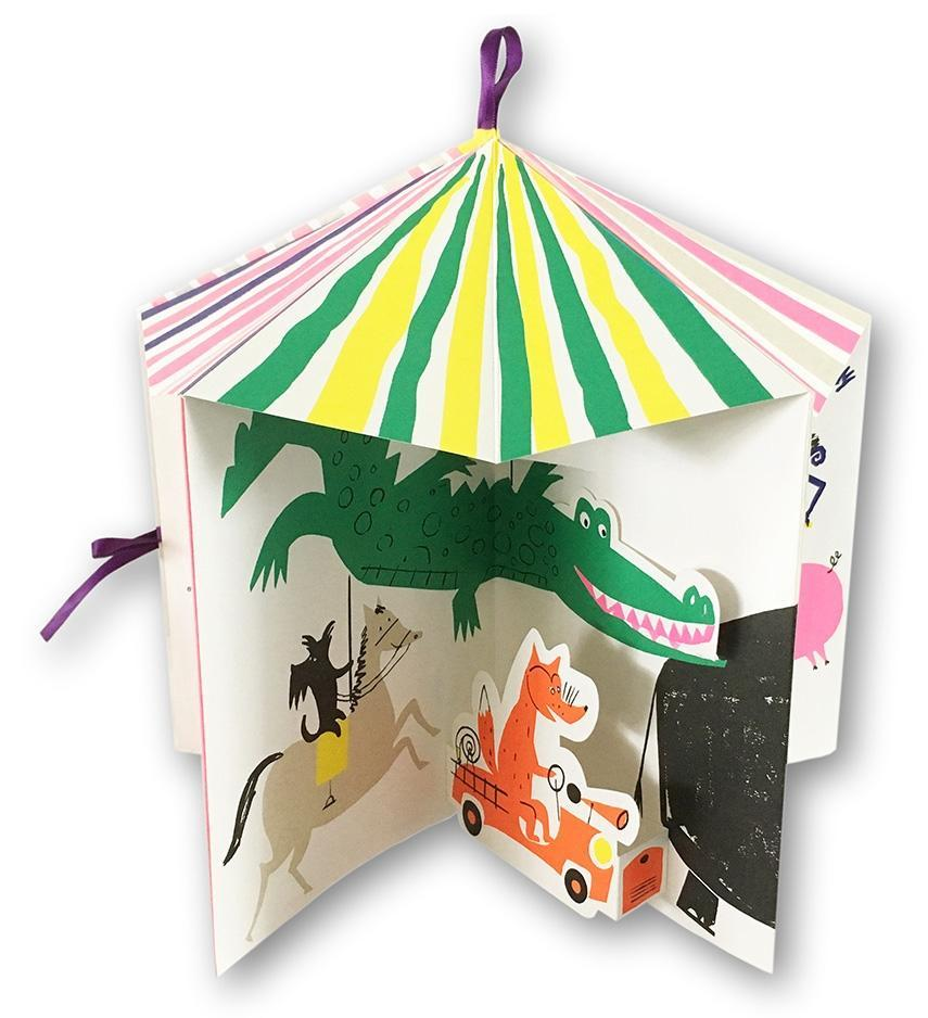 The carousel of animals book little gestalten eyes open project
