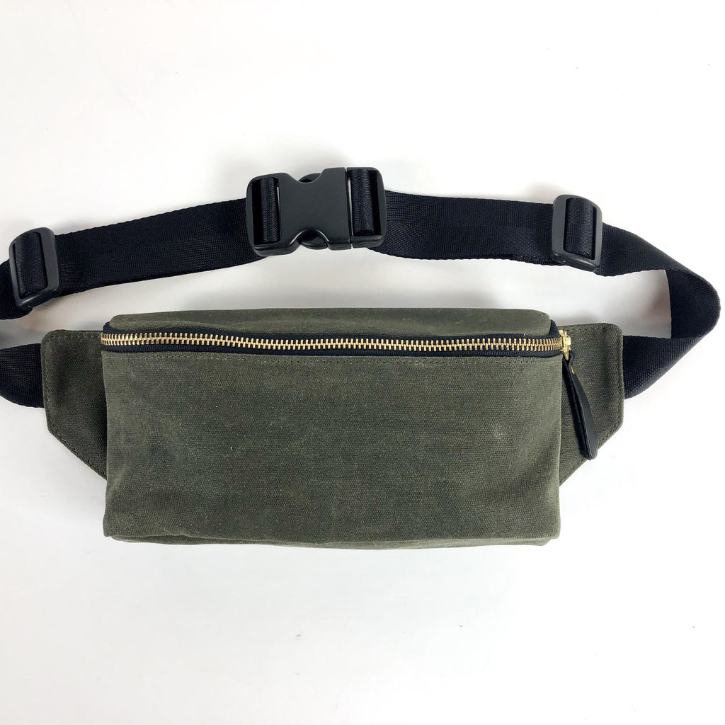 Winter Session x Eyes Open Canvas Fanny Pack