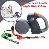 Dual RETRACTABLE Pet Leash Pro