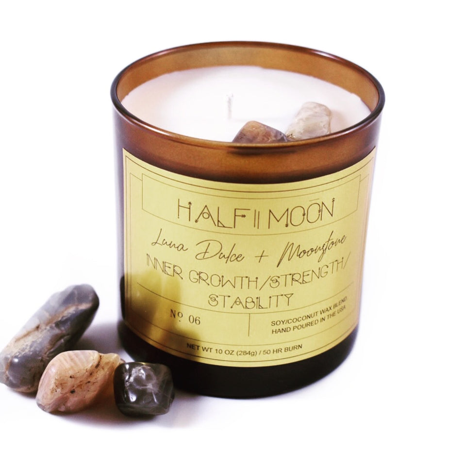 Crystal Candles - Halfmoon Candle Company
