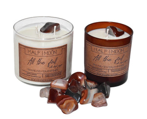All the Fall with Desert Jasper - 3 wick (LIMITED EDITION)