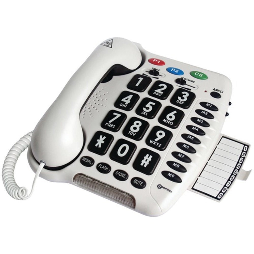 Geemarc(R) AMPLICL100 40dB Amplified Telephone