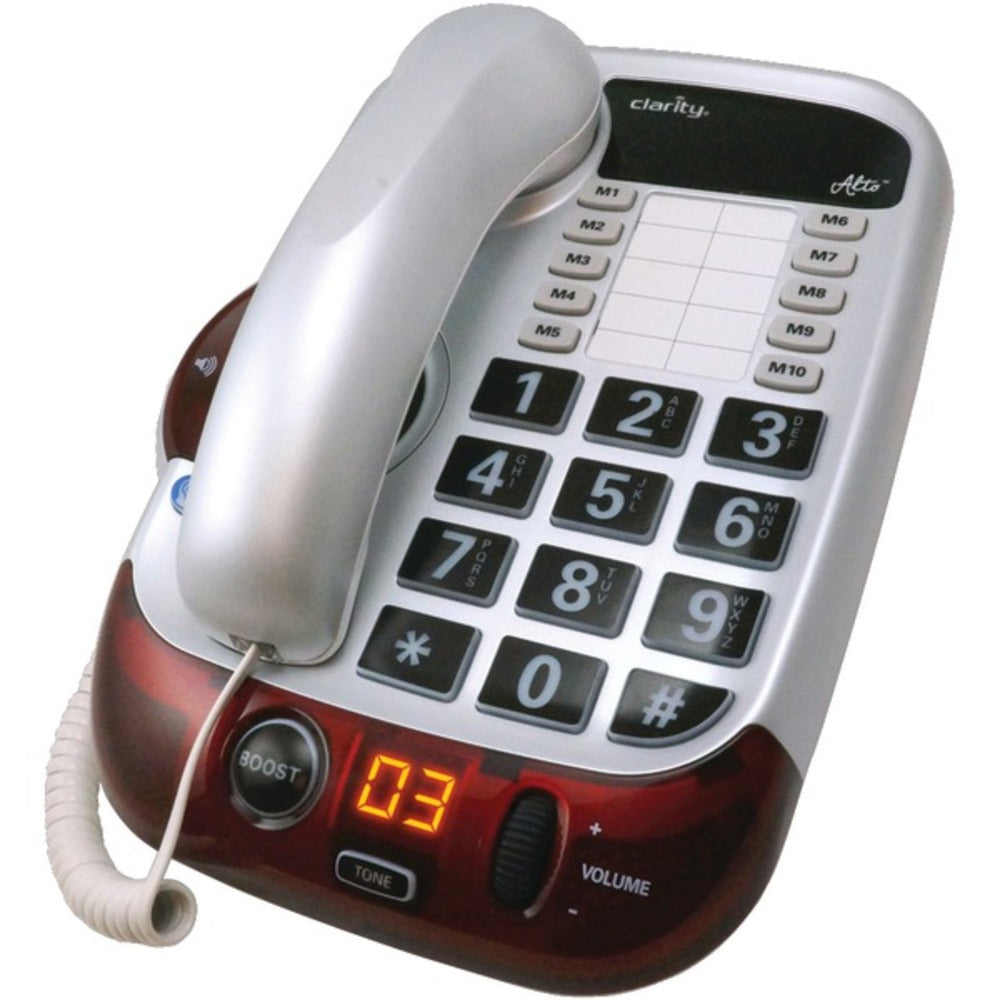 Clarity(R) 54005.001 Alto(TM) Amplified Corded Phone