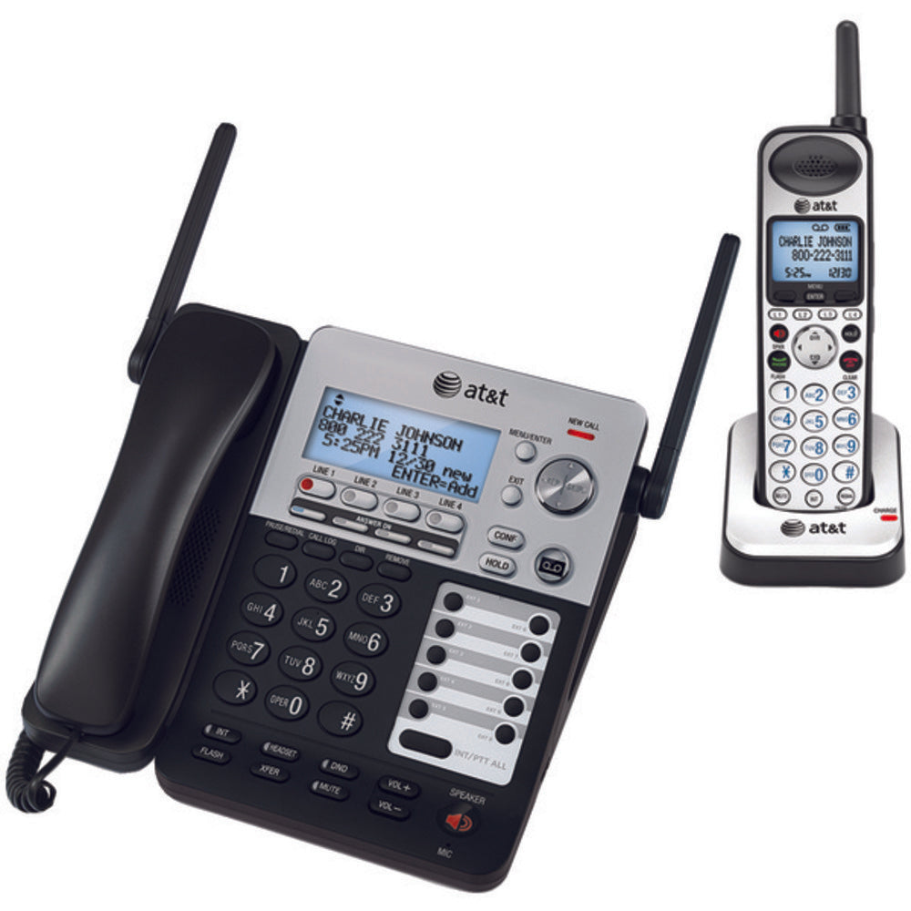 AT&T(R) ATTSB67138 SynJ(R) 4-Line Expandable Business Phone System
