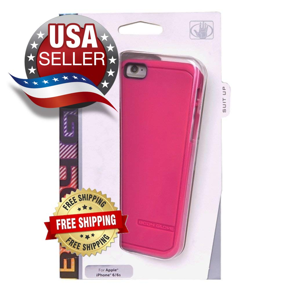 Body Glove iPhone 6/ iPhone 6s Satin Gel Case Pink