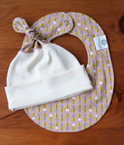 Baby Bib and Hat Gift Set, Florette