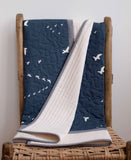 Navy Flight Quilt