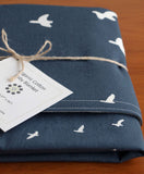 Blue Bird Baby Blanket for Boys or Girls