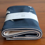 Navy Blue Burp Rags Gift Set