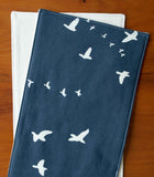 Modern Birds in Flight Baby Burping Cloths