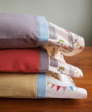 Colourful Flannel Pillowcases with Woodland Party